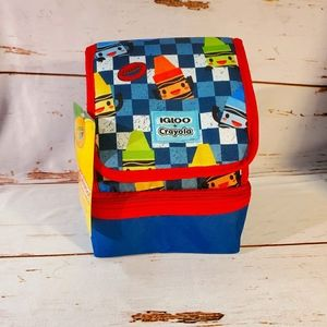 2/$32 Igloo + Crayola Adorable Sandwich Lunch Box